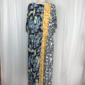3X London Times Paisley Midi Dress